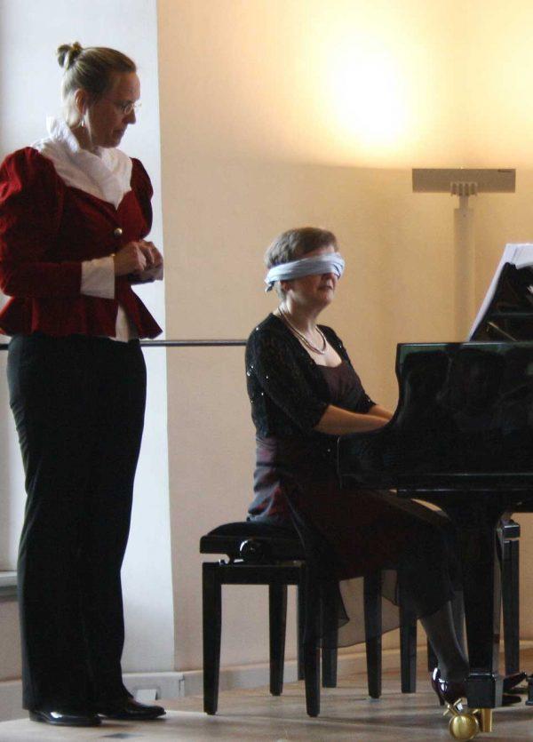 Bettina Casdorff beim Kinderkonzert